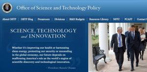 OSTP homepage